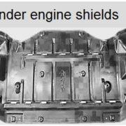 Under engine shields